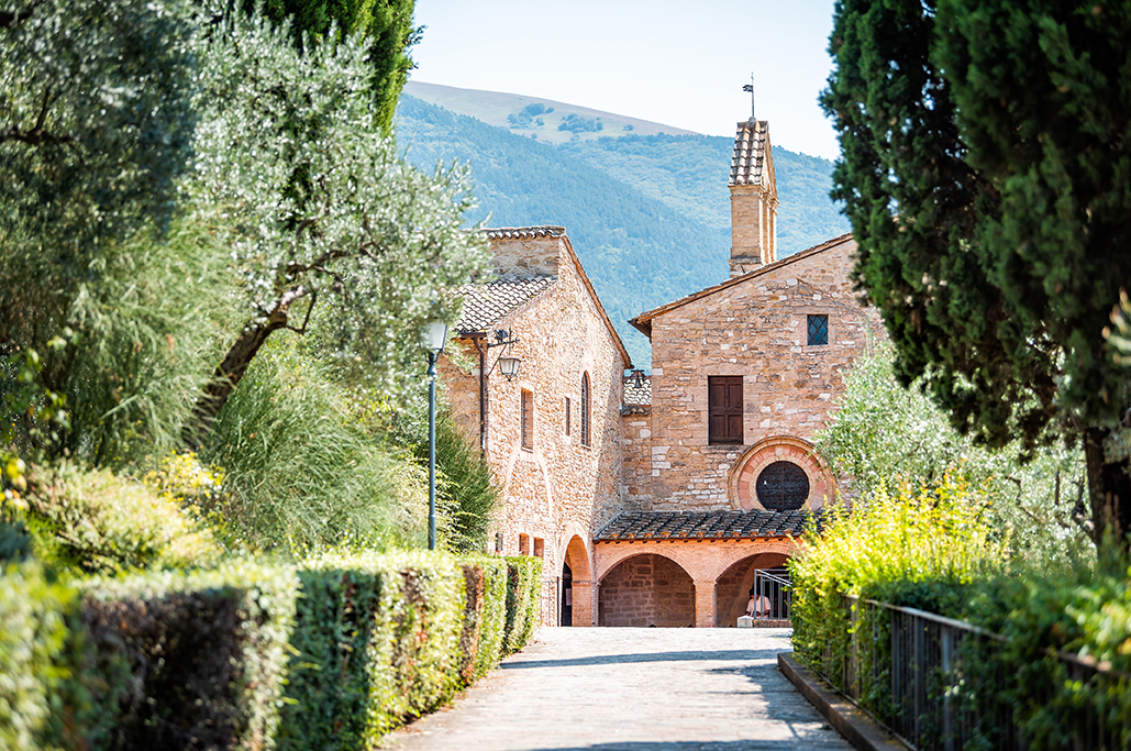 San Damiano church, Assisi