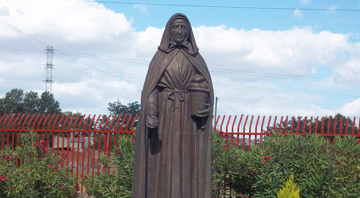 Statue of St. Jeanne Jugan