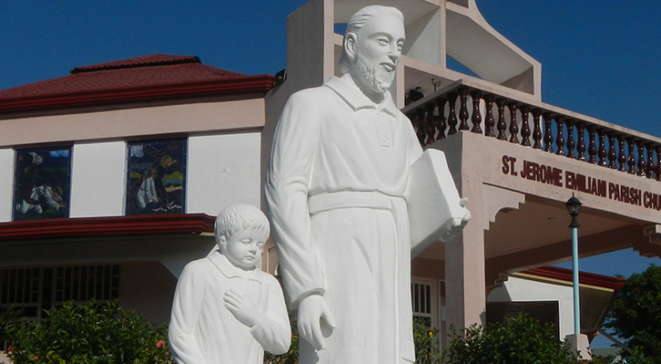Statue of Saint Jerome Emiliani, Bataan, Philippines