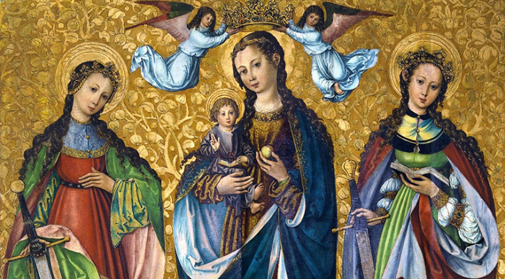 Mary and Child with Saints Felicity and Perpetua (Sacra Conversazione)