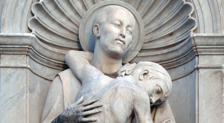Statue of John of God in Rome | Saint of the Day