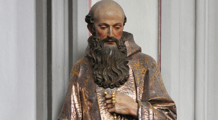Sculpture of Saint Conrad of Parzham | Saint of the Day