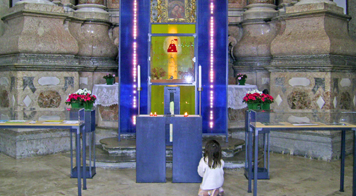 Photo of the Shrine of Blessed Francis Xavier Seelos, St Magn Basilica, Füssen, Germany
