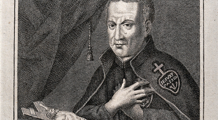 Engraving of Saint Paul of the Cross