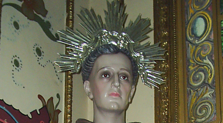 Statue of Saint Antônio de Sant'Anna Galvão, Cathedral of Saint Anthony, Guaratinguetá