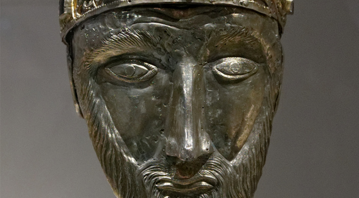 Head reliquary of Pope Sylvester I