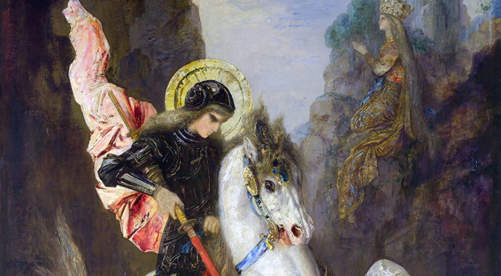 Saint George and the Dragon | Saint of the Day