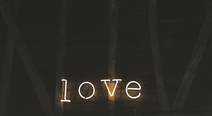 Sign saying love/Photo by Jez Timms on Unsplash