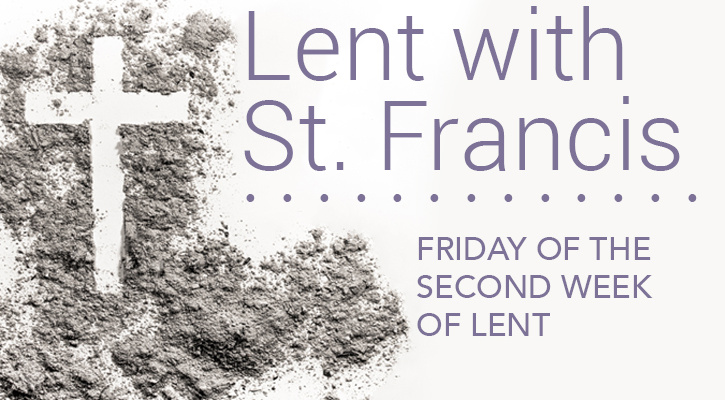 Lent with St. Francis: Supporting the Church