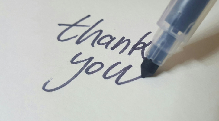 The Importance of Saying Thanks