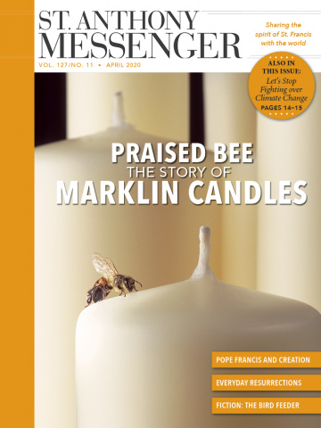 April cover praised bee the story of marklin candles